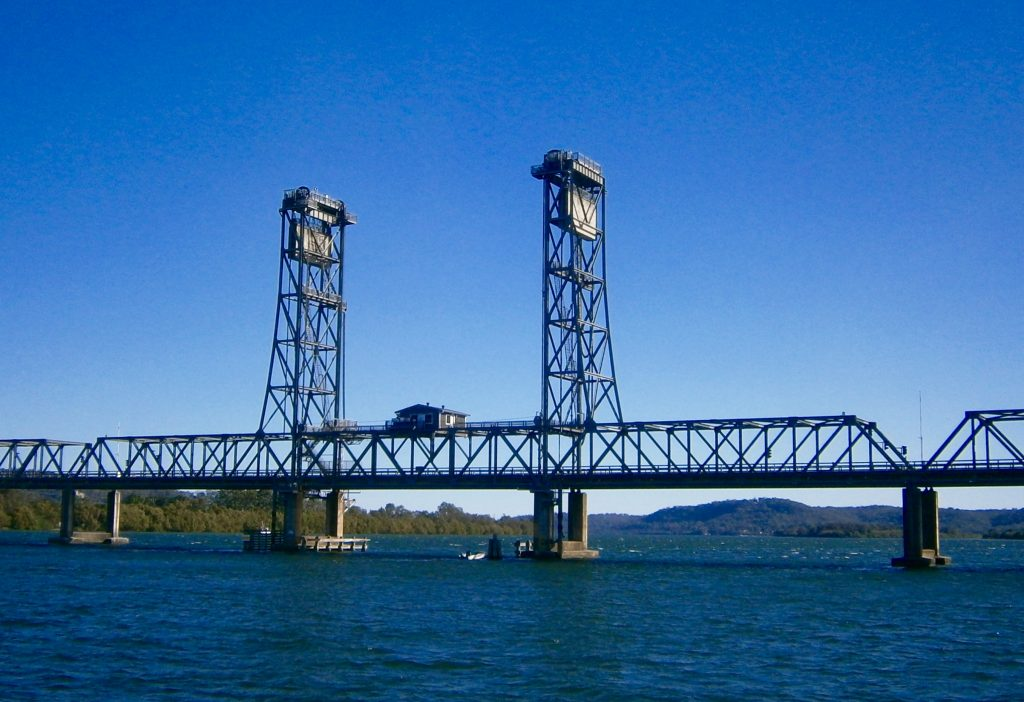 The Harwood bridge over the Clarence river