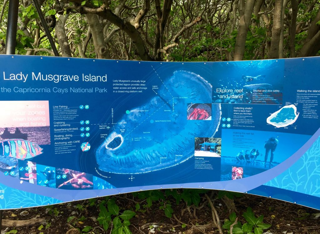 Island information map
