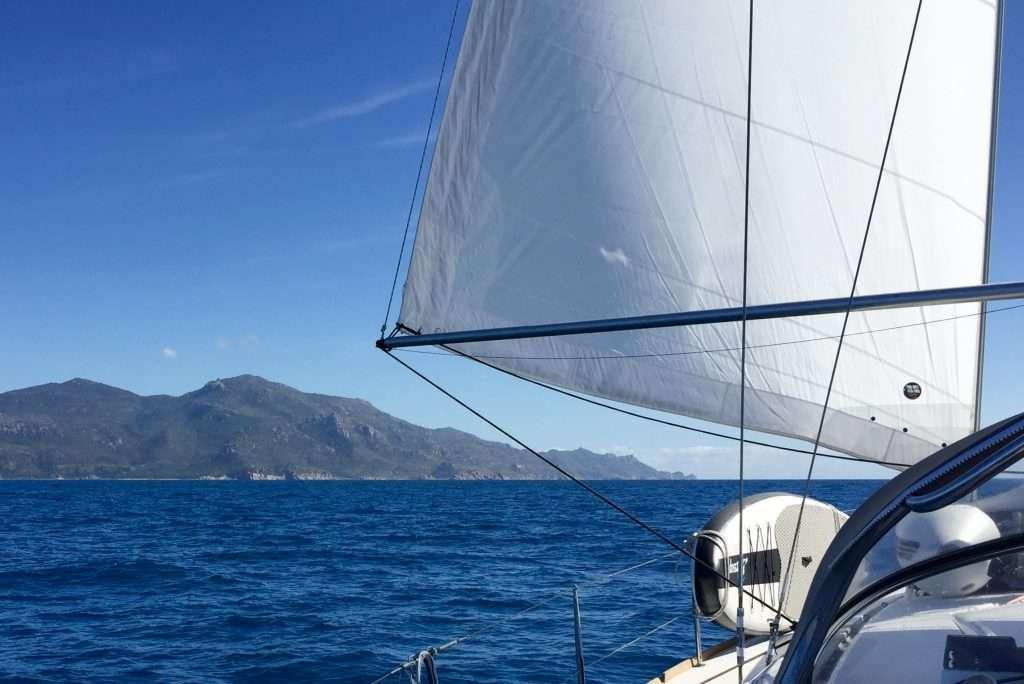 Approaching Cape Upstart.