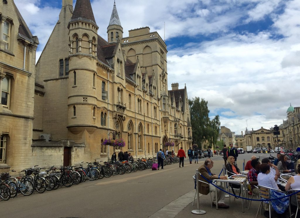 Oxford colleges.