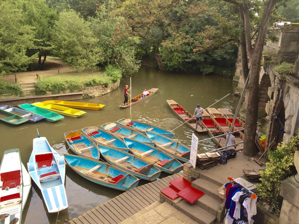 Punts on the river?
