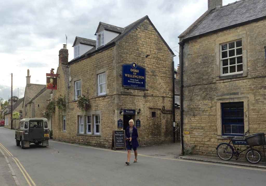 Lunch at Bourton-on-the-water.