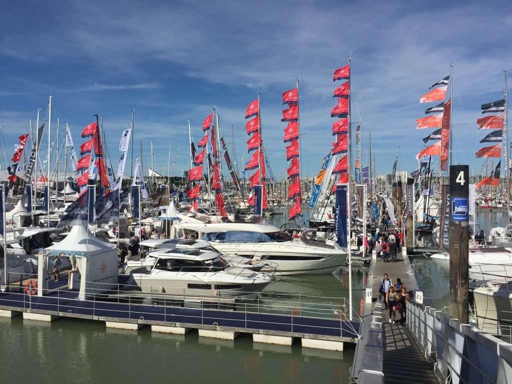 La Rochelle boat show.