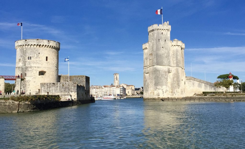 La Rochelle harbour - where all the persecuted French Protestants departed from to the rest of the world.