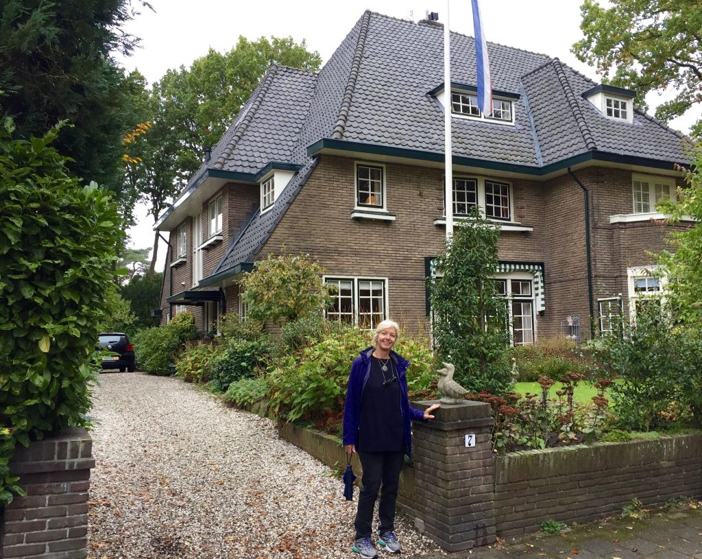 Gijs and Florence Lamsvelt's house in Bussum.