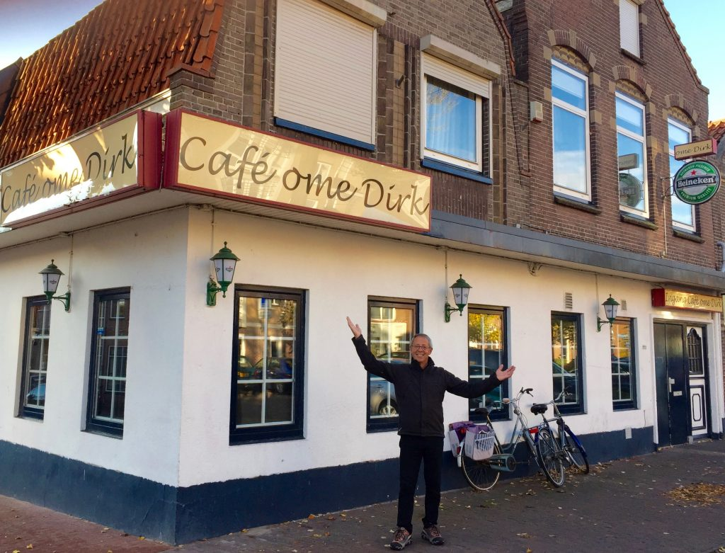 And look: Uncle Dirk's cafe!