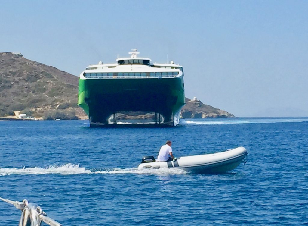 how to get to amorgos greece